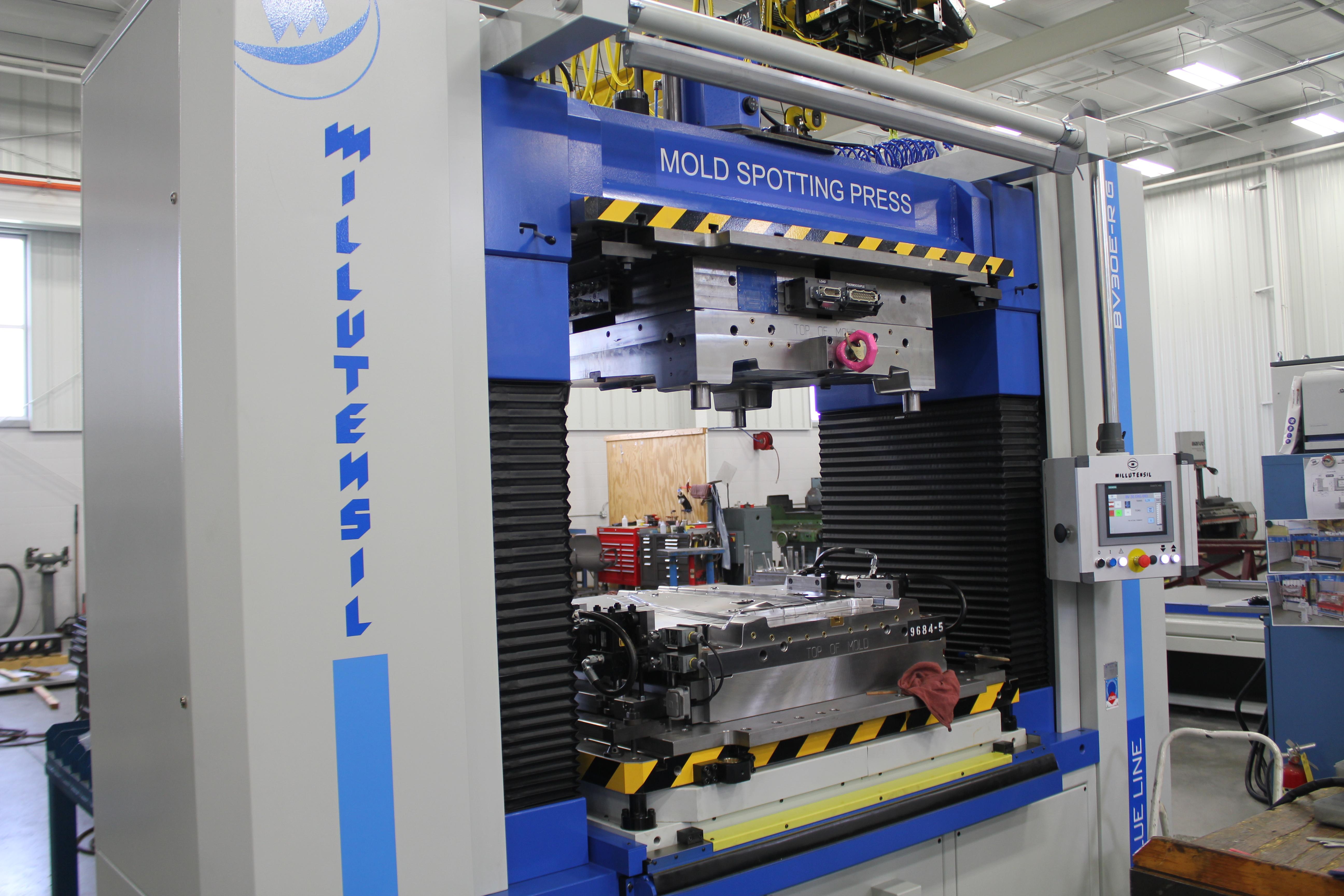 Spotting Press Ancillary Equipment, Milutensil BV 30-ER-G Photo - Detail Technologies, LLC