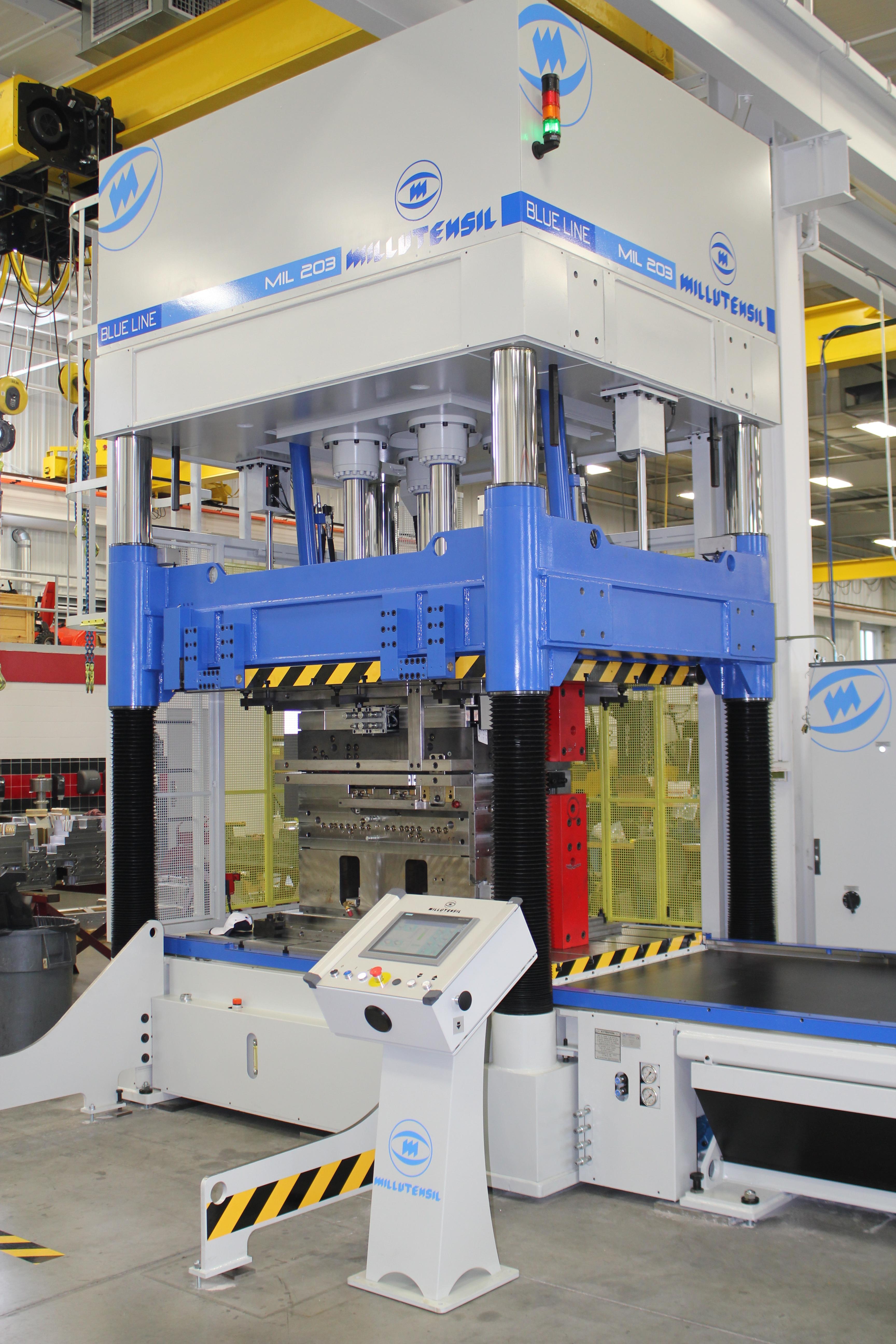 Spotting Press Ancillary Equipment, Milutensil Mil-203 Photo - Detail Technologies, LLC