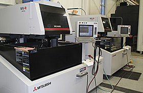 Michigan Wire Machining Companies, Mitsubishi MV-R2400 Adv + Photo - Detail Technologies, LLC