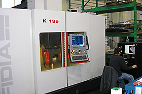 Michigan High Speed Milling, Fidia K199 Cont. 5-Axis Photo - Detail Technologies, LLC