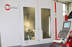 Michigan High Speed Milling, Hermle C-50 Cont. 5-Axis Photo - Detail Technologies, LLC