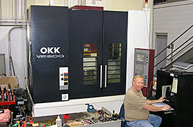 Michigan Machining Companies, OKK VP 600 Photo - Detail Technologies, LLC