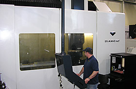 Michigan Hard Milling, Parpas Diamond Continuous 5-Axis Photo - Detail Technologies, LLC