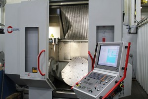 Photo Of A Five-Axis Machining Equipment - Detail Technologies